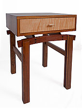 Night Tables by Jeffrey Hills (Wood End Table)