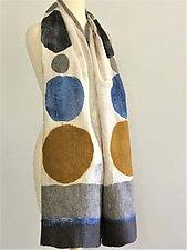 Diane Scarf by Elizabeth Rubidge  (Silk & Wool Scarf)
