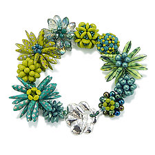 Tropics by Kathryn Bowman (Beaded Bracelet)
