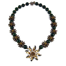 Jade Jubilation by Kathryn Bowman (Beaded Necklace)