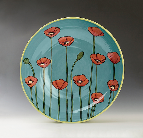 Large Poppy Bowl
