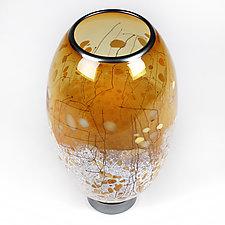 Harmonious Honey by Eric Bladholm (Art Glass Vase)
