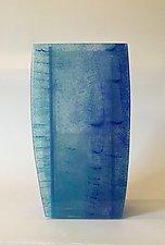 Angel Falls Vase by Alicia Kelemen (Art Glass Vase)