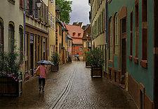 Old World Rainy Morning by Steven Kozar (Giclee Print)