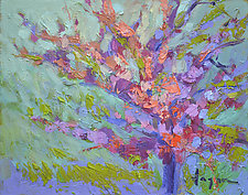 Redbud by Dorothy Fagan (Oil Painting)