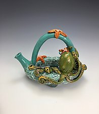 Making Friends by Lilia Venier (Ceramic Teapot)