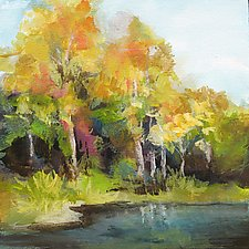 Changing Seasons by Karen  Hale (Acrylic Painting)
