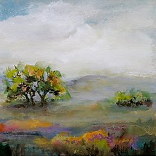 A Moment in Time by Karen  Hale (Acrylic Painting)