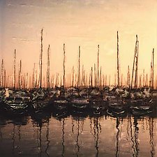 Boats: Nice, France by Julie Betts Testwuide (Color Photograph)