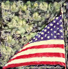 Old Glory by Julie Betts Testwuide (Color Photograph)