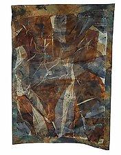 Dry Lake by Joanie San Chirico (Fiber Wall Art)