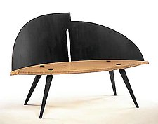 Archetype Bench by Erik Wolken (Wood Bench)
