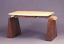 Bridge-Writing Desk by Erik Wolken (Wood Desk)