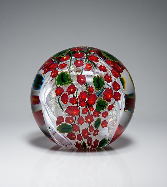 Poinsettia Paperweight