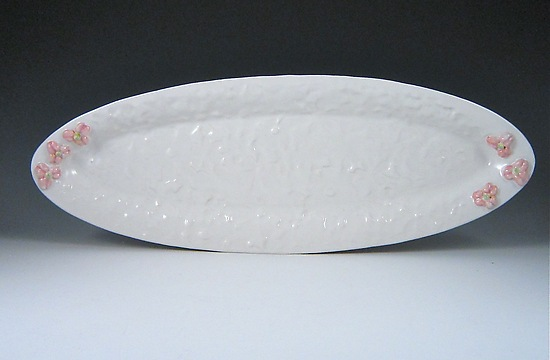 Blossom Textured Porcelain Tray