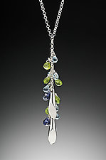 Sliver Lariat by Kennedi Milan (Silver & Stone Necklace)