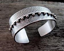 Paradox II Cuff by Delias Thompson (Silver Bracelet)