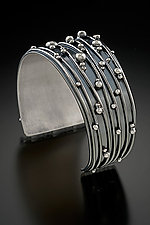 Twilight Cuff by Delias Thompson (Silver Bracelet)