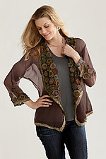 Rose Garden Jacket by Deborah Murphy  (Silk Jacket)