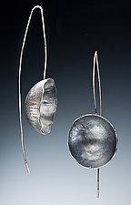 Capri Earrings by Nina Mann (Silver Earrings)