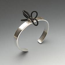 Independence Bracelet by Lonna Keller (Silver & Neoprene Bracelet)
