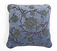 Lake Pillow by Mary Lynn O'Shea (Fiber Pillow)