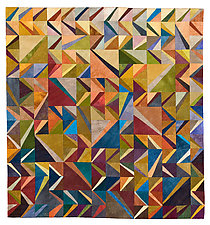 Coast to Coast by Janet Steadman (Fiber Wall Art)