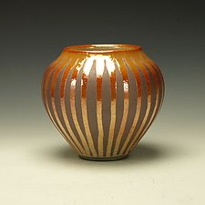 Raku Vessel by Lance Timco (Ceramic Vessel)
