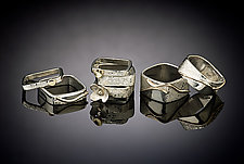 Stacking Ring Series by Chi Cheng Lee (Gold & Silver Rings)