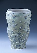 Untitled Vase 1003 by Ben Howort (Ceramic Vase)
