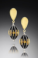 Opera Earrings by Samantha Freeman (Gold & Silver Earrings)