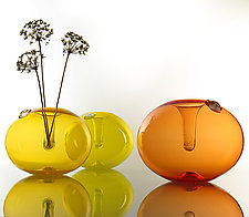Funnel Vases by Dan Mirer (Art Glass Vase)