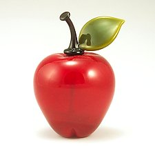 Apple Perfume by Garrett Keisling (Art Glass Perfume Bottle)