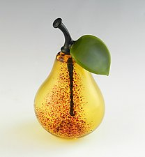 Pear Perfume by Garrett Keisling (Art Glass Perfume Bottle)