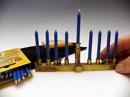 Travel Menorah