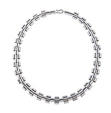 Tubetti Necklace by Karen and James Moustafellos (Silver Necklace)