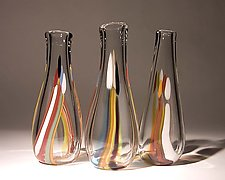 Candles by Bengt Hokanson and Trefny Dix (Art Glass Vase)