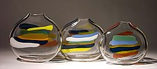 Stripes by Bengt Hokanson and Trefny Dix (Art Glass Vase)