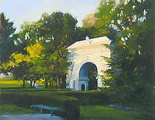Camp Randall Entrance by Georgene Pomplun (Giclee Print)