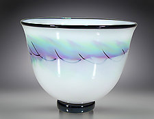 Aurora Bowl by Scott Simmons (Art Glass Bowl)