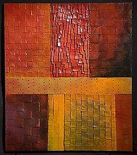 Fall Twilight by David Paul Bacharach (Metal Wall Sculpture)