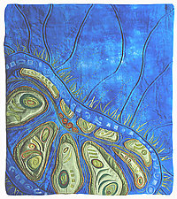 Seed Dreaming II by Karen Kamenetzky (Fiber Wall Art)