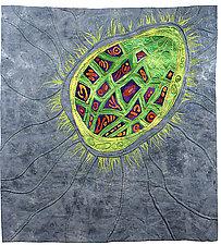 Seed Dreaming I by Karen Kamenetzky (Fiber Wall Art)