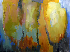 Texture 3 by Cathy Locke (Oil Painting)