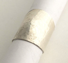 Textured Silver Ring by Dennis Higgins (Silver Ring)