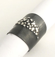 Oxidized Silver Ring by Dennis Higgins (Silver Ring)