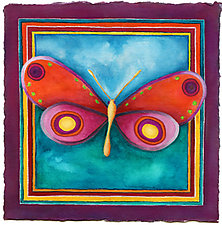 Butterfly No. 8 by Rachel Tribble (Giclee Print)