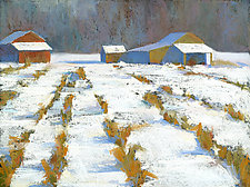 Field of Snow by Suzanne Siegel (Giclee Print)