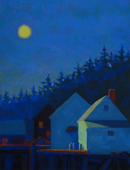 Two Shacks, Moonlight
