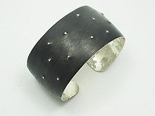Oxidized Silver Cuff by Dennis Higgins (Silver Bracelet)